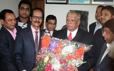 এমপি আমু'র সাথে শুভেচ্ছা বিনিময় করলেনঝালকাঠি প্রেস ক্লাবের নবনির্বাচিত কমিটি