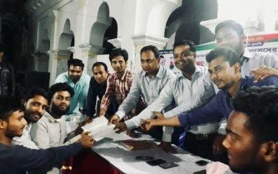 মৌলভীবাজারের সাংবাদিকরা অত্যান্ত আন্তরিক সদ্য বিদায়ী পুলিশ সুপার শাহ জালাল