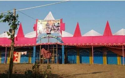মৌলভীবাজারে সিএনজি ভাংচুর ও লুটপাটের প্রতিবাদে মানববন্ধন