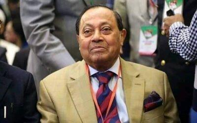 বিএনপি নেতা মওদুদ আহমদ আর নেই